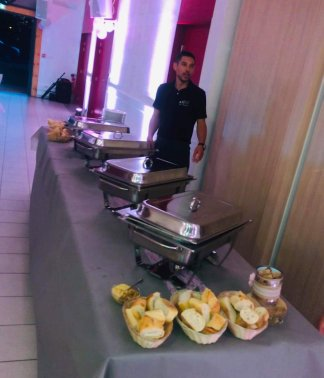 Buffet chaud